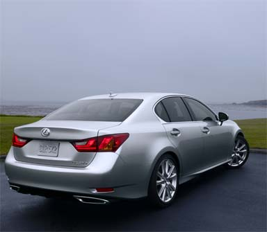 2013 Lexus GS 350 Back View