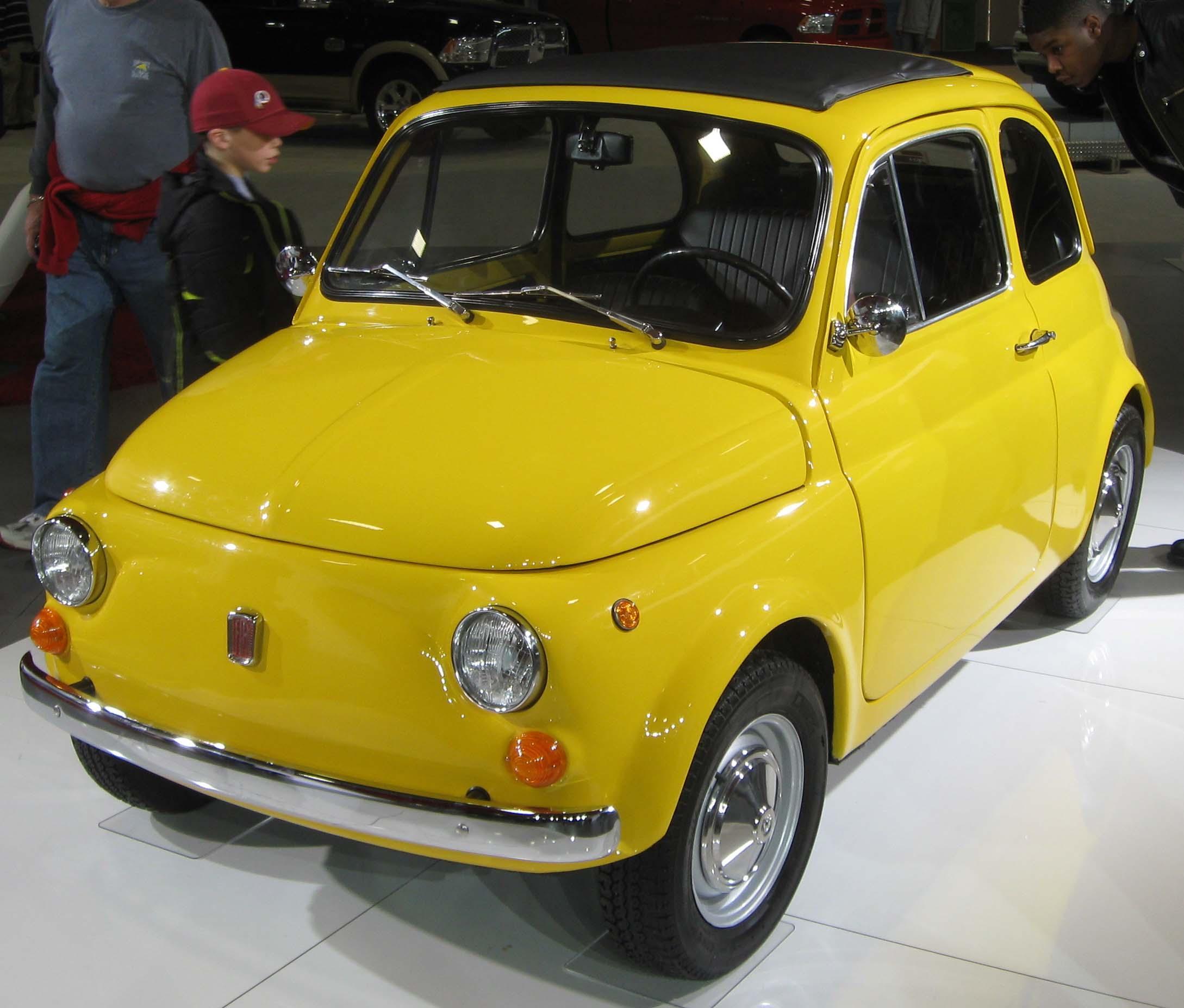 New Fiat 500, A World-class Small Car