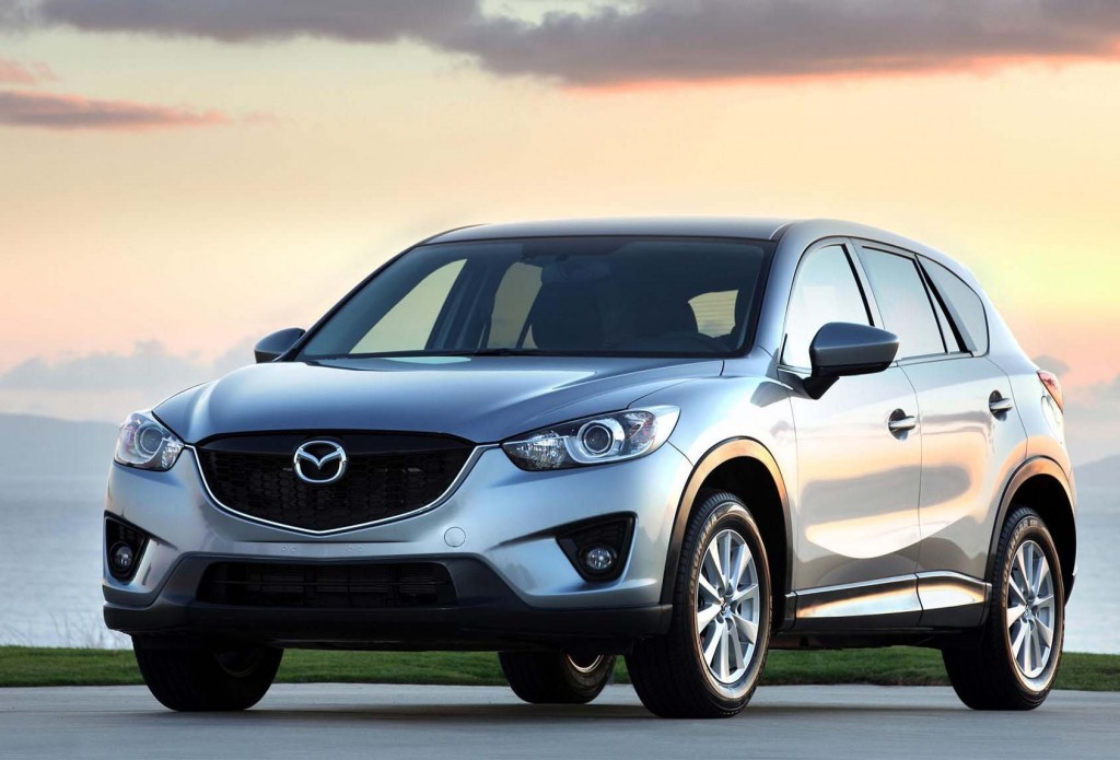 MAZDA CANADA INC. - 2013 Mazda CX-5 Named Top Safety Pick
