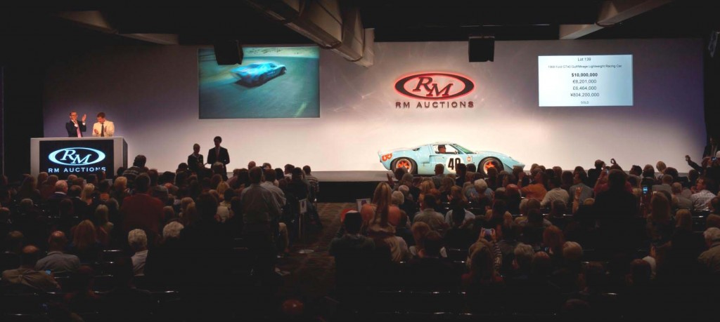 RM Auctions 2012