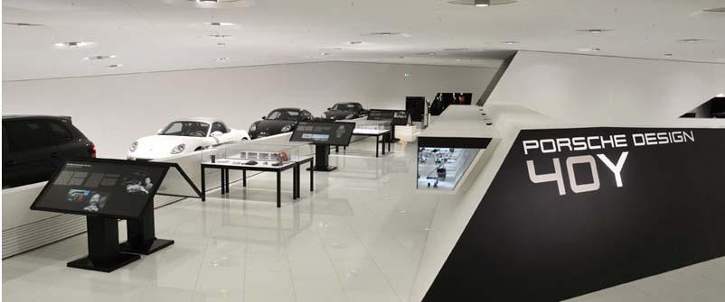 Porsche Museum Exhibit