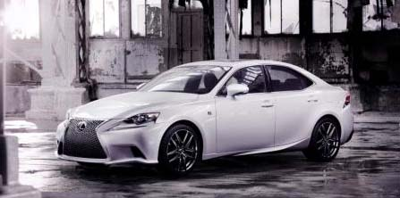 2013 All-New Lexus IS