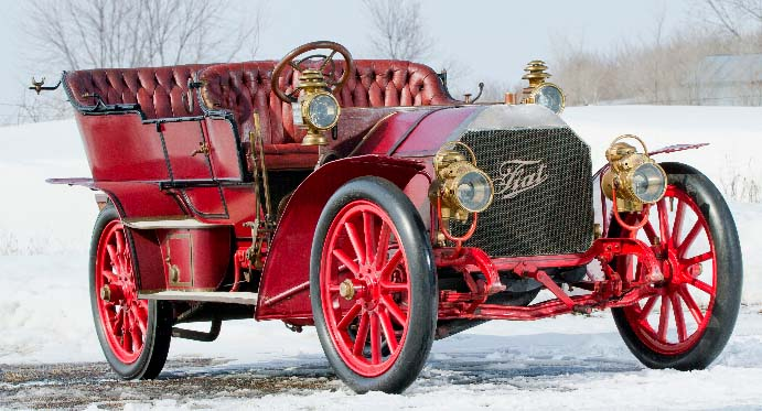 1905 FIAT 60HP Five-Passenger Touring by Quinby- RM Auctions