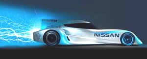 The Nissan ZEOD RC will achieve speeds in excess of 300km/h.