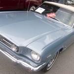 1965 Ford Mustang Convertible. Sold at $28,885.