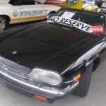 1989 Jaguar XK Convertible V12. Sold at $12,190.