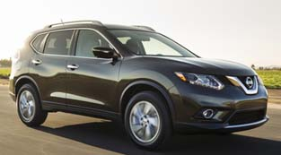 All-new 2014 Nissan Rogue.