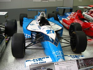 #27—Jacques Villeneuve's winning car at the 1995 Indianapolis 500.