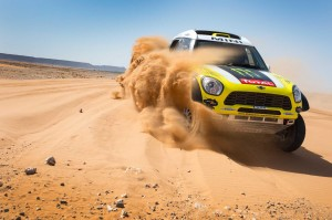 MINI All4 Racing at 2014 Dakar Rally.