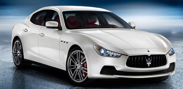 2014 Maserati Ghibli.
