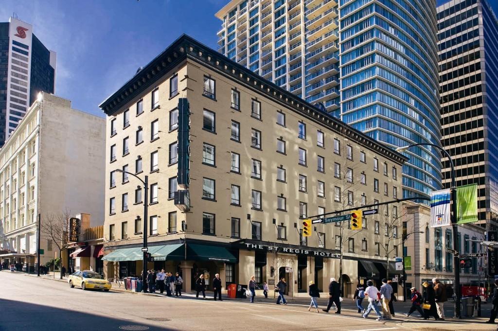 St. Regis Hotel, 602 Dunsmuir Street, Vancouver, BC