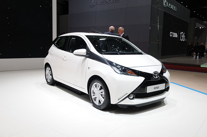 Toyota unveiled it's 2014 Aygo, an urban-styled vehicle designed for city living, at the 2014 Geneva Motor Show.