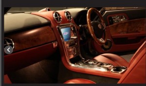 David Brown Speedback Interior
