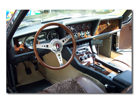 Interior 1976 Jensen Coupe