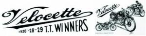 Velocette Winners