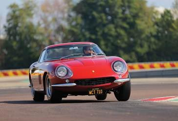 1967 Ferrari 275 GTB/4 formerly owned by actor Steve McQueen.