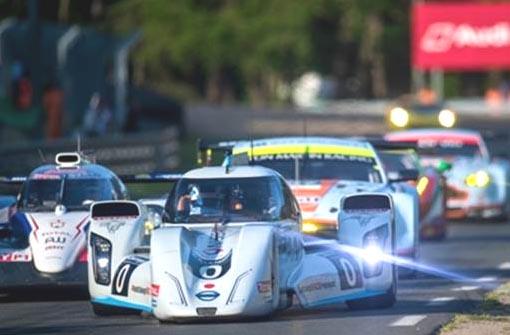 Nissan at Le Mans.