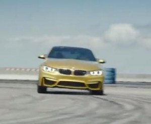 The Ultimate Racetrack--BMW's M4 races on uncharted territory in this new BMW ad.