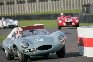 Jaguar D-Type at Goodwood