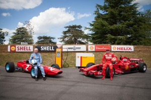John Surtees and Kimi Raikkonen combined to create a magic Hillclimb moment on the final day of Goodwood 2014.