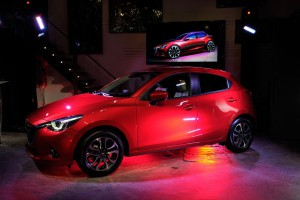 All-new 2016 Mazda2 at exclusive unveil event - Montreal, QC (CNW Group/Mazda Canada Inc.)