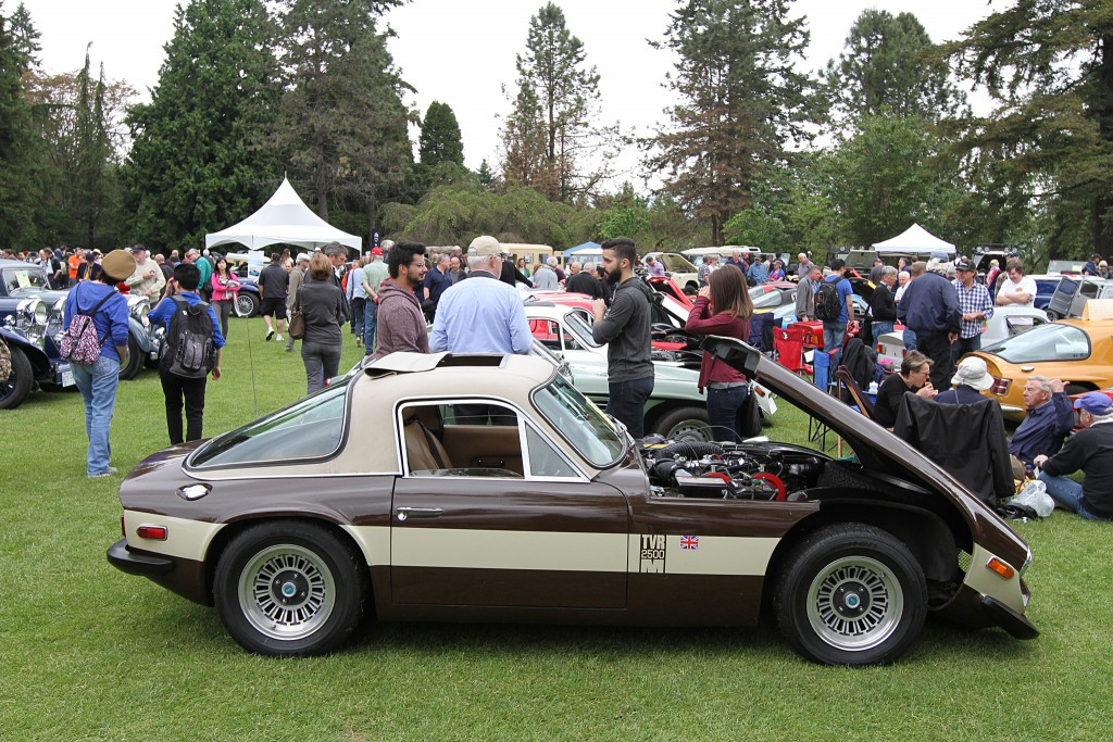 TVR at 2015 Vacouver ABFM at VanDusen Garden. Photo: Owen Automotive.