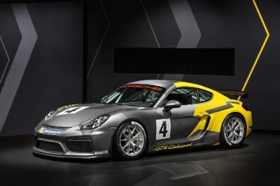 Porsche Cayman GT4 Clubsport.