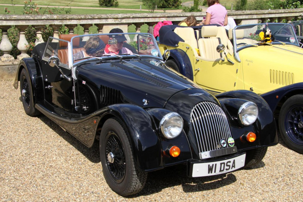Morgan's iconic British sports cars have been hand-crafted since 1910.