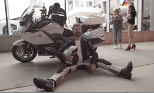 Carl J Reese broke the solo cannonball motorcycle record driving a BMW K 1600 GT.