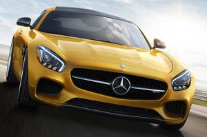 2016 Mercedes-AMG GT S.