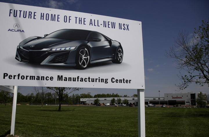 Acura_NSX_Plant_Sign
