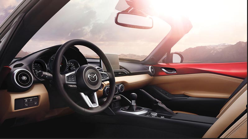 The fourth-generation 2016 MX-5 with SKYACTIV Technology is all about beautiful proportions and driver excitement.
