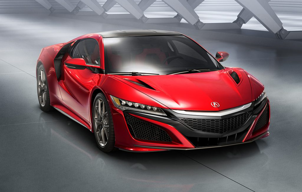 The 2017 Acura NSX is the only supercar designed, developed and manufactured in the U.S. and is produced exclusively at the Performance Manufacturing Center in Marysville, Ohio using domestic and globally sourced parts.