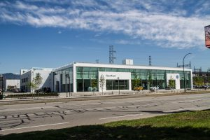 OpenRoad's new Burnaby VW dealership.