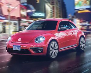 2017 Volkswagen #PinkBeetle (pre-production model).