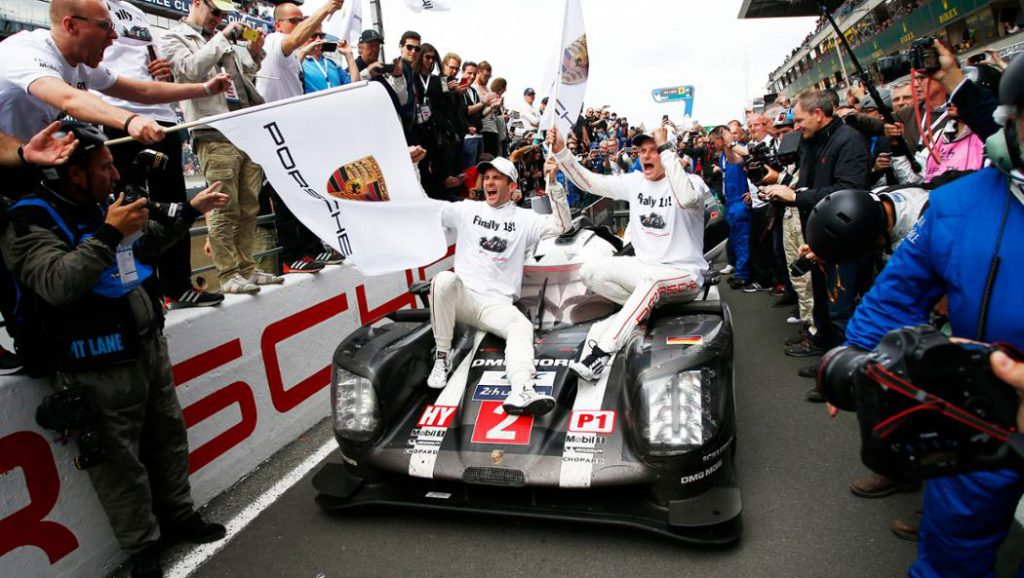Porsche 919 Hybrid wins 2016 24 Hours of Le Mans.