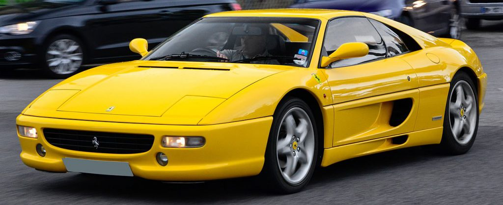 Ferrari F355. Photo: Alexandre Prévot from Nancy, France.