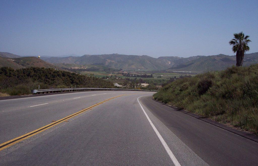 San Diego's Highway 78. Photo: adbar