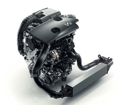 Infiniti's new VC-T engine.