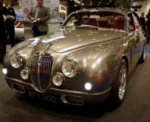 Jaguar Design Chief Ian Callum's re-engineered Mk 2 Jaguar.