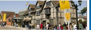 Stratford upon Avon—a market town with more than 800 years of history.