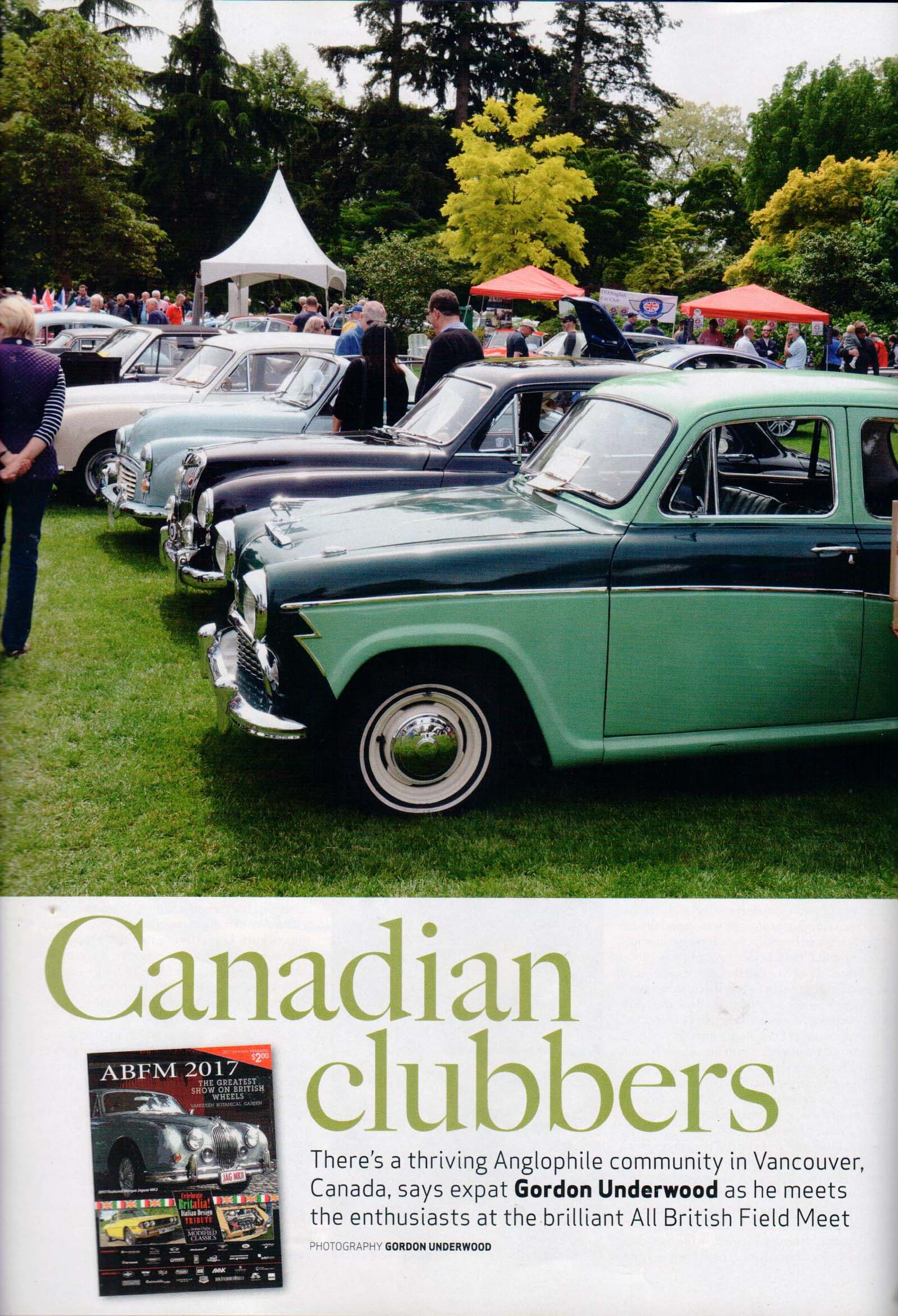 Vancouver ABFM recognized in Classic & Sports Car magazine ...