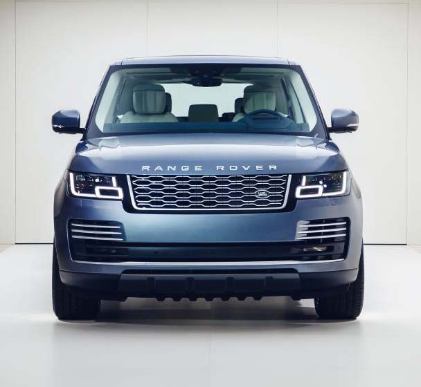 Range Rover P400e plug-in hybrid electric vehicle (PHEV).