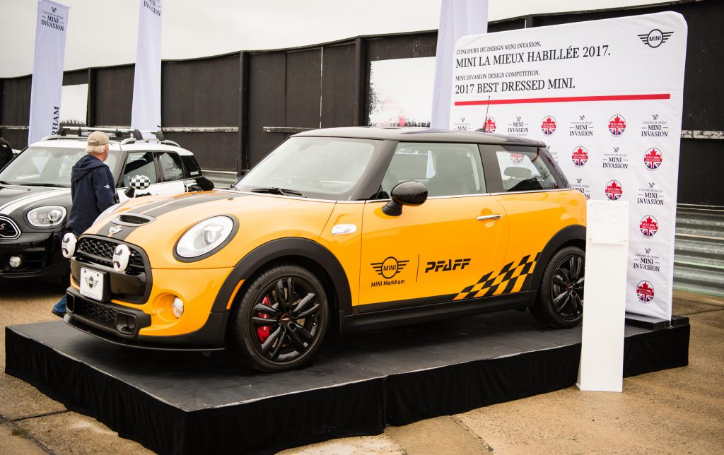 Winning model of the 2017 MINI Invasion Design competition. Photo courtesy MINI Canada.