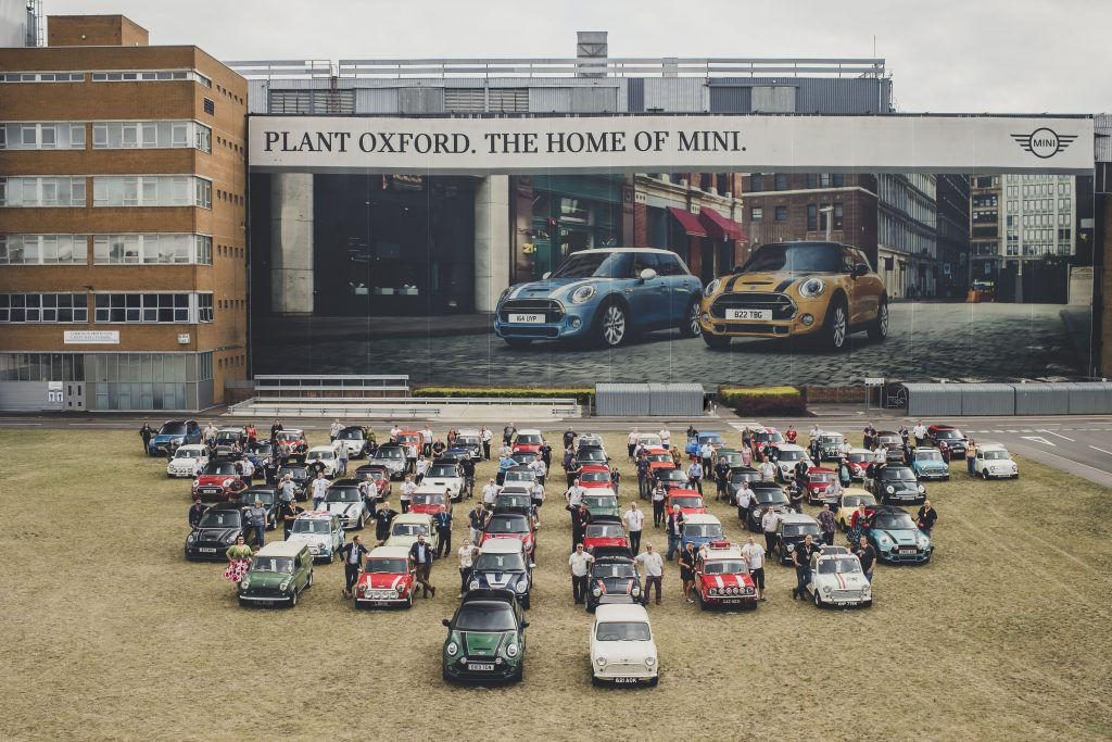 Celebrating the 60th Anniversary of Mini.