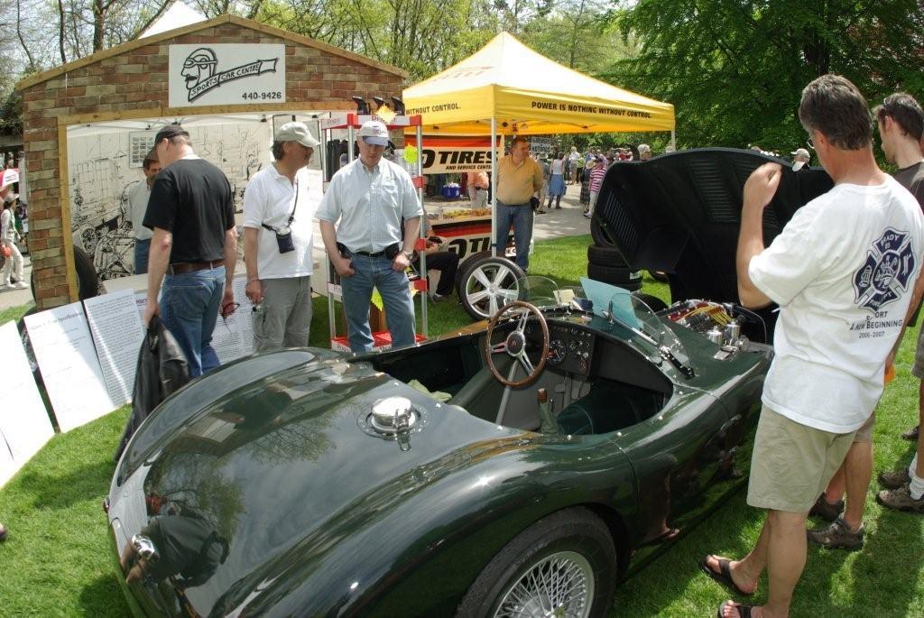 Jaguar C-Type at the 2010 ABFM