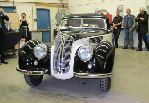 1938 BMW 327/328 unveiled at Jellybean AutoCrafters