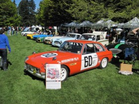 Ralph Zbarsky's ex-BMC Factory MGB GT - VRCBC photo