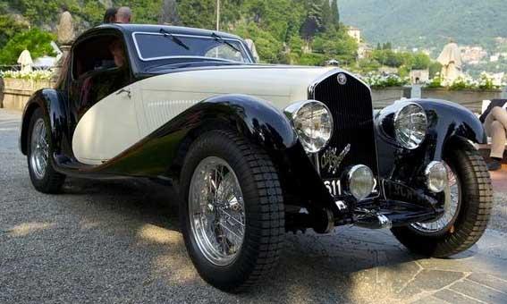 David Cohen 1933 Alfa Romeo