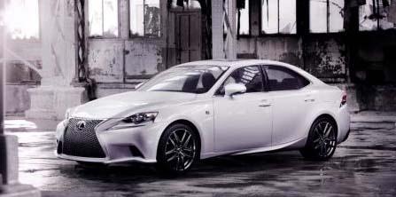 2013 All-New Lexus IS